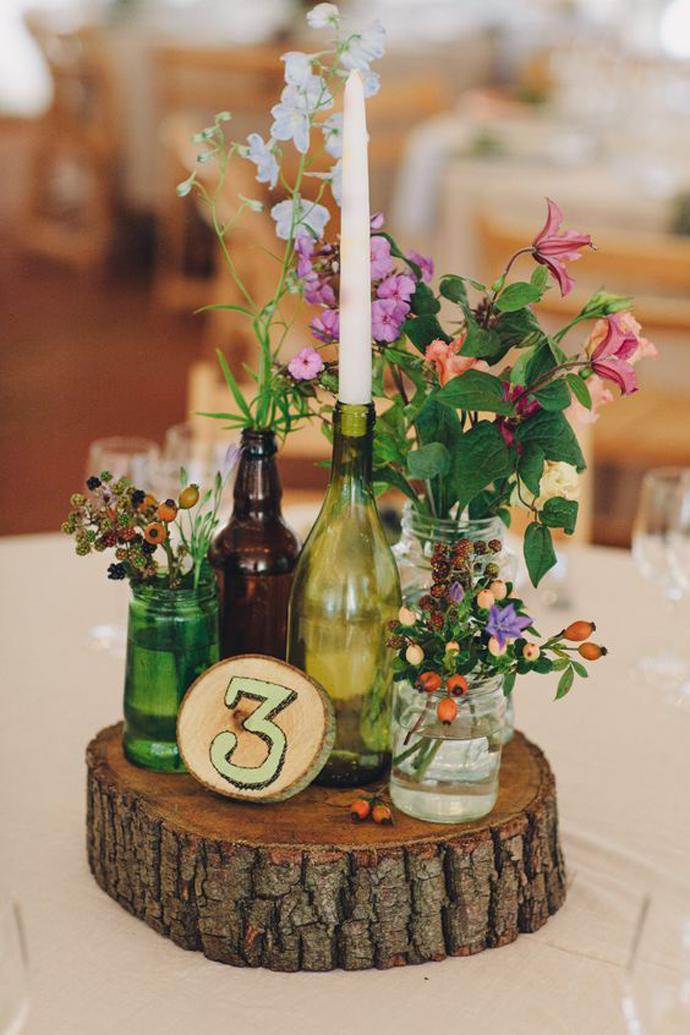 sticla vin numar de masa nunta in gradina (13)