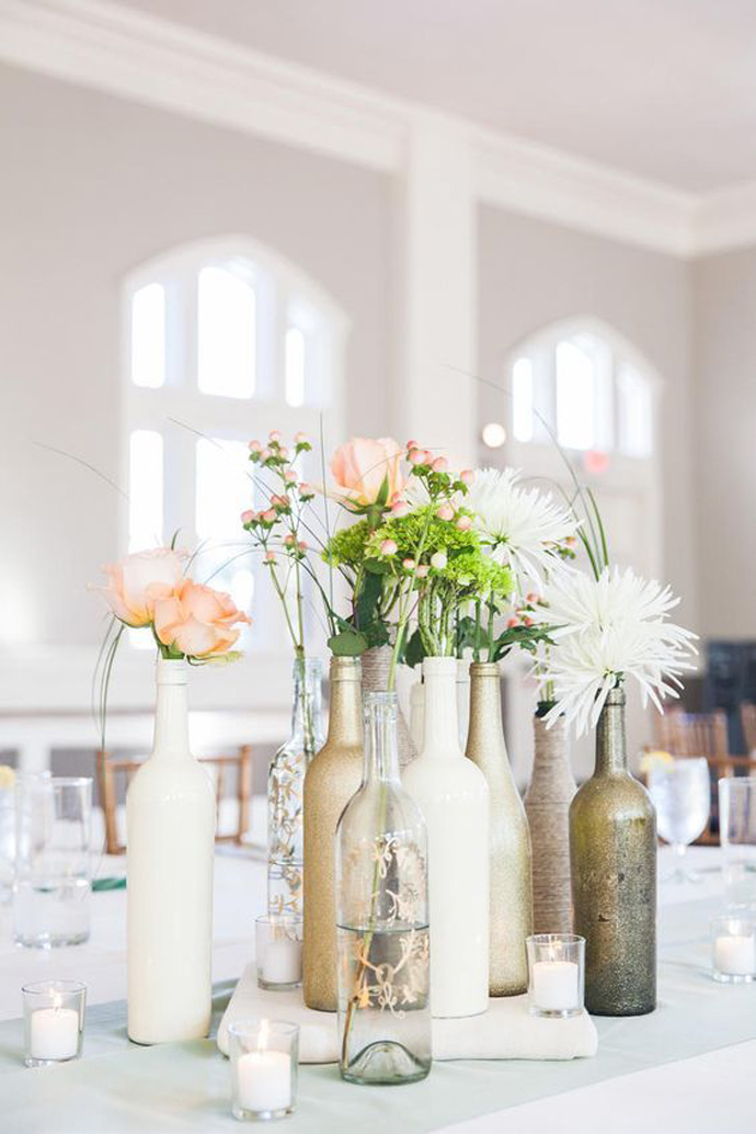 sticla vin numar de masa nunta in gradina (3)