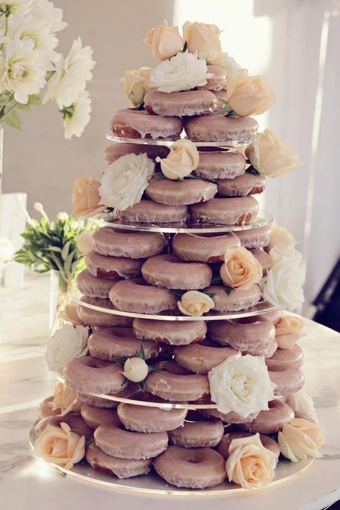 donuts nunta in gradina (17)