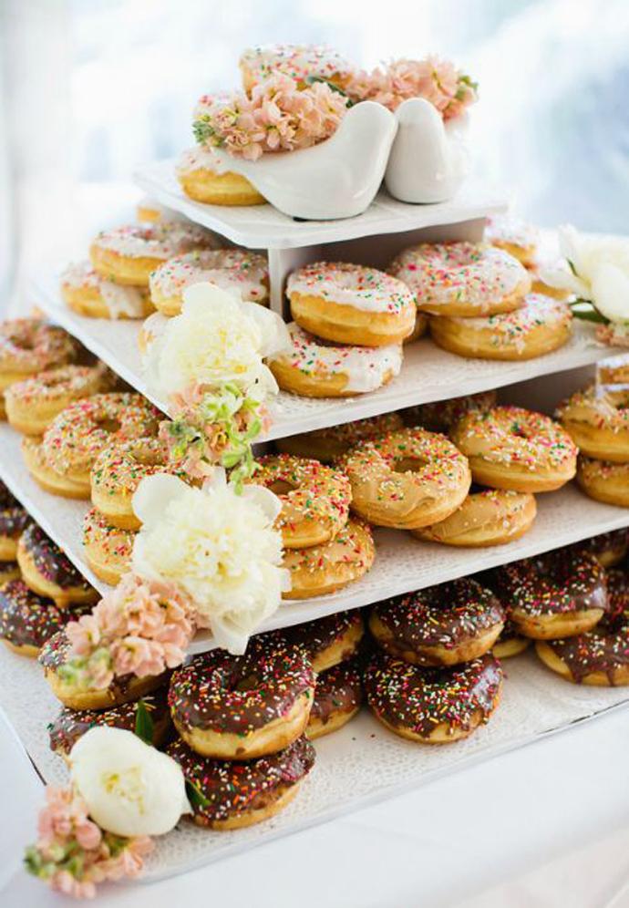 donuts nunta in gradina (2)