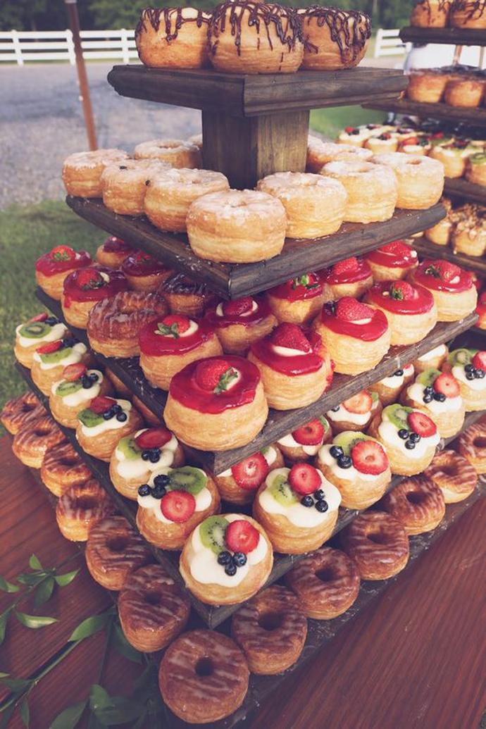 donuts nunta in gradina (25)