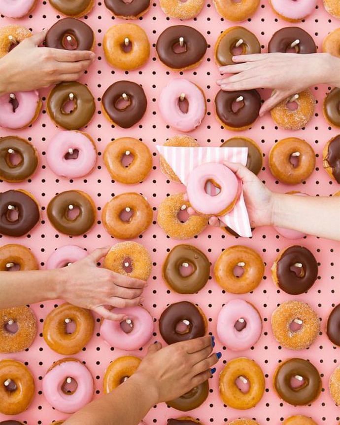 donuts nunta in gradina (5)