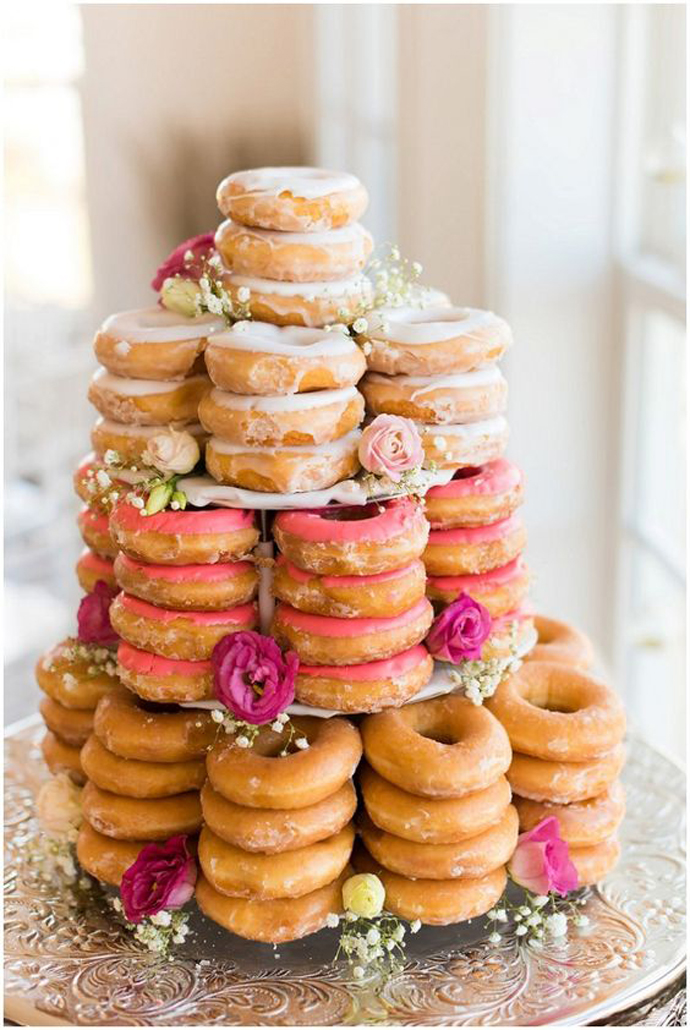 donuts nunta in gradina (7)